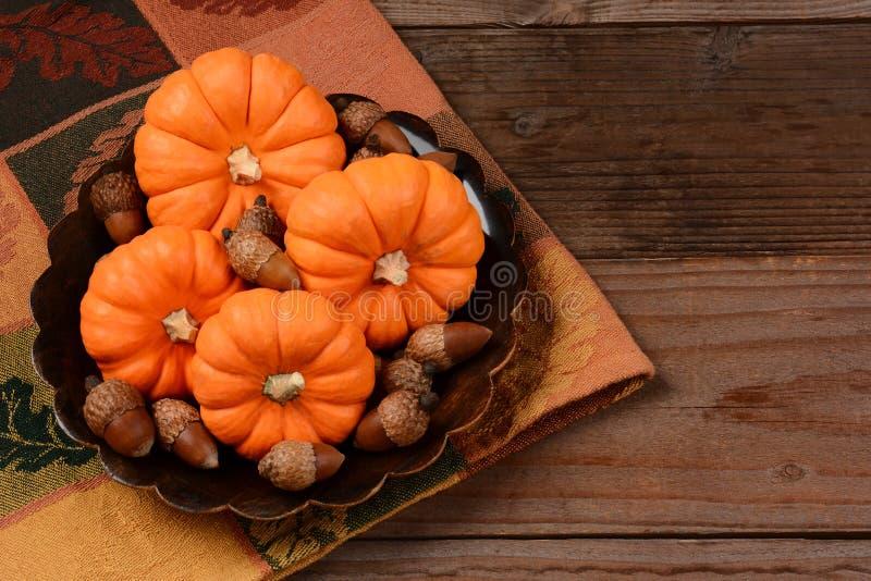 Mini Pumpkin Still-Leben stockfotografie