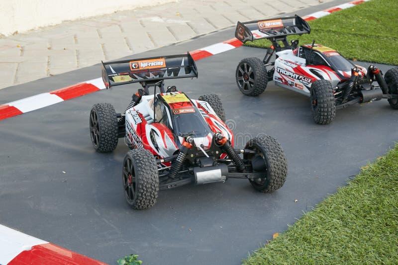 Mini Race Car arkivfoton