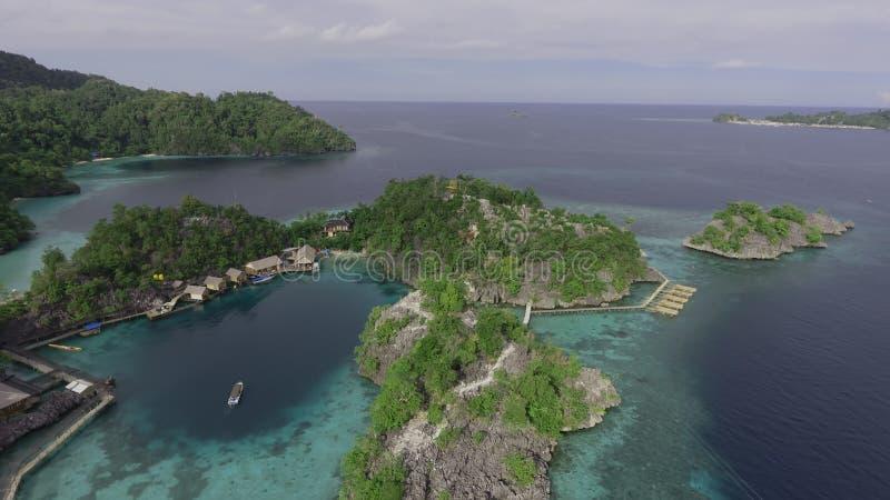 Mini Raja Ampat Island imagen de archivo