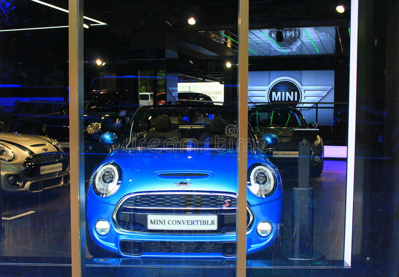 Mini sala wystawowa obraz stock