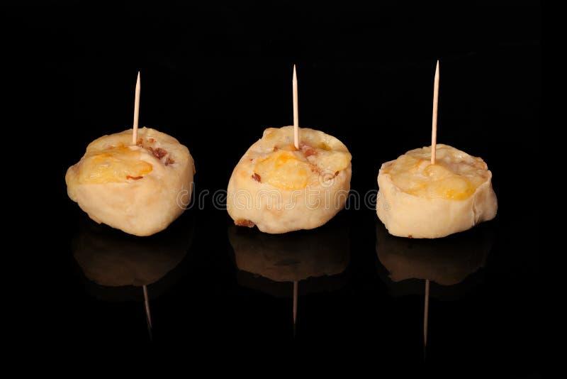 Mini Salted Snacks royalty free stock photo