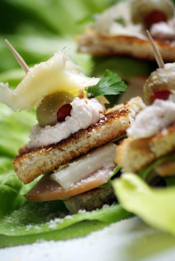 Mini sandwich photos libres de droits