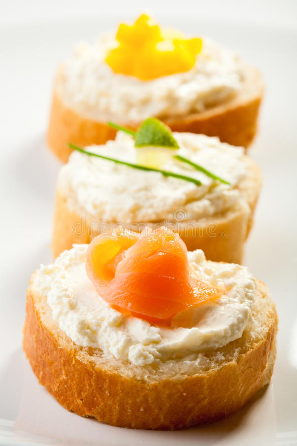 Mini sandwichs images stock