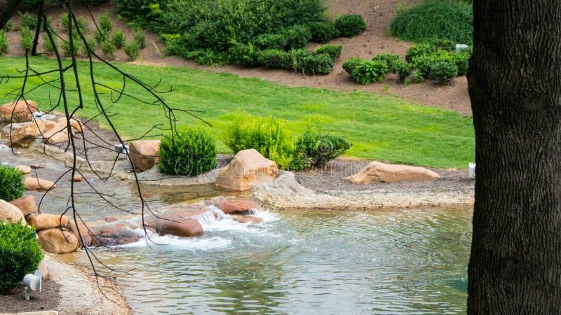Mini siklawa w parku zdjęcie royalty free
