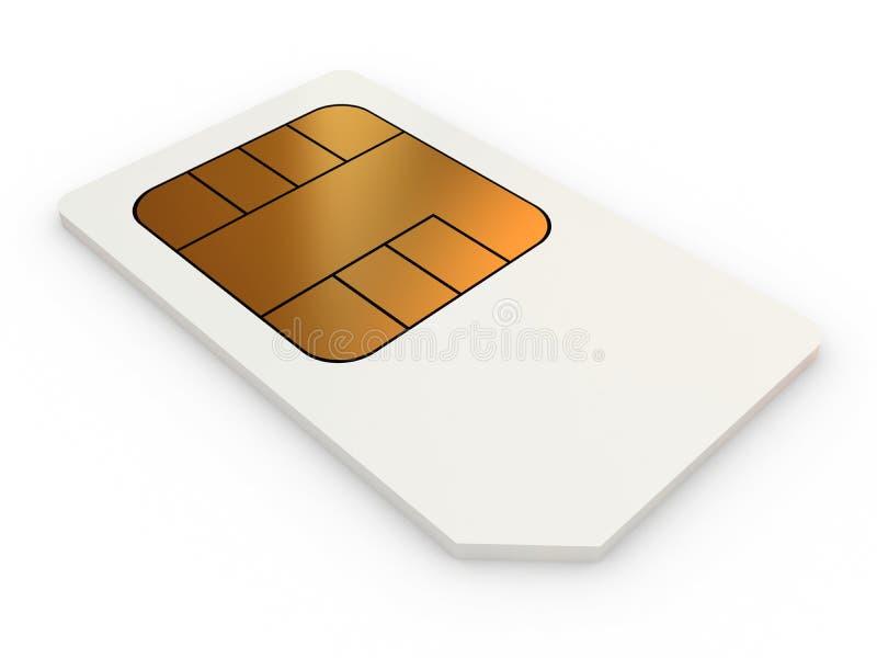 Mini-SIM tarjeta fotografía de archivo
