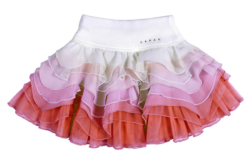 Mini skirt stock photo