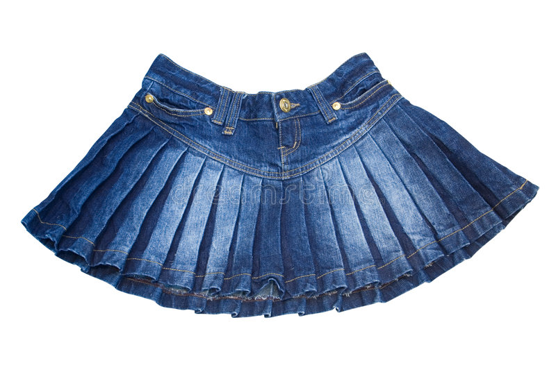 Mini skirt royalty free stock photography