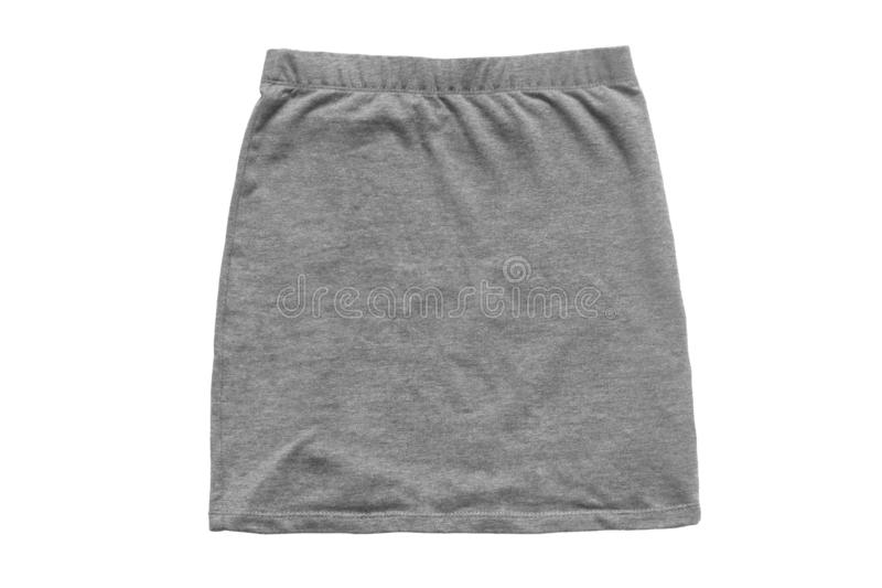 Mini skirt isolated royalty free stock images
