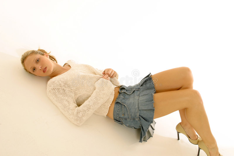 Download Mini Skirt Portraits Stock Photography - Image: 3194562