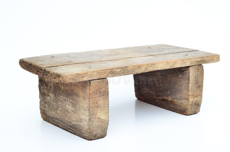 Mini tabouret en bois photographie stock libre de droits