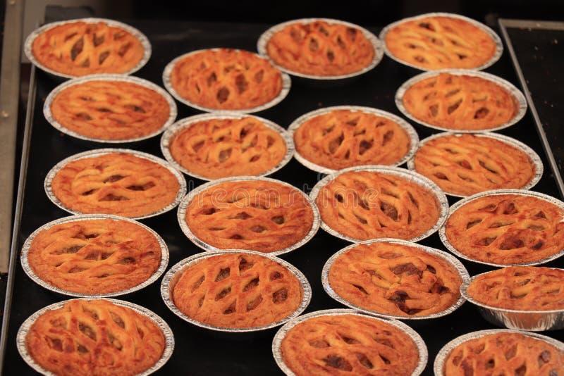 Mini tartes faits frais images stock