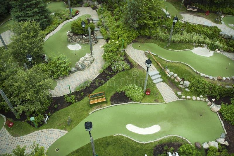 Mini terrain de golf images stock