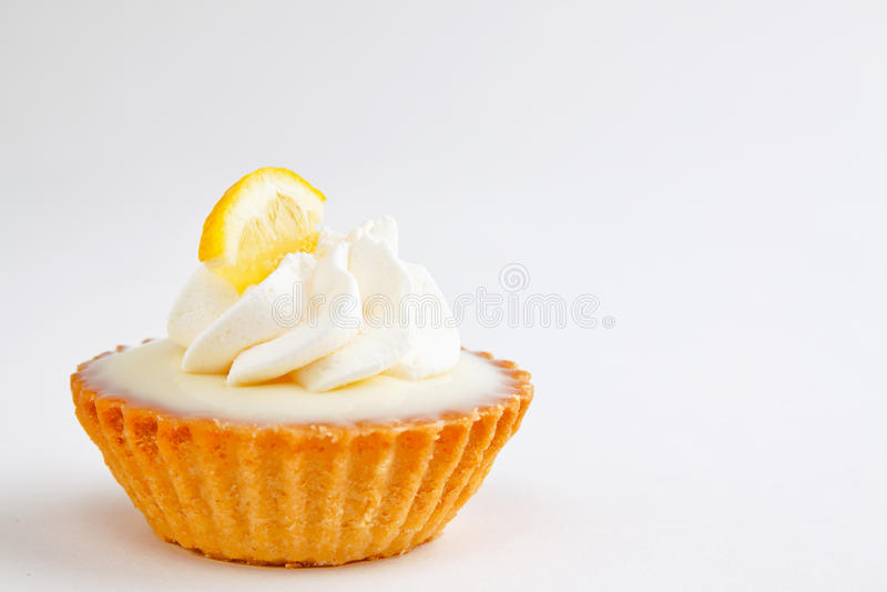 Mini torta del limone immagine stock libera da diritti