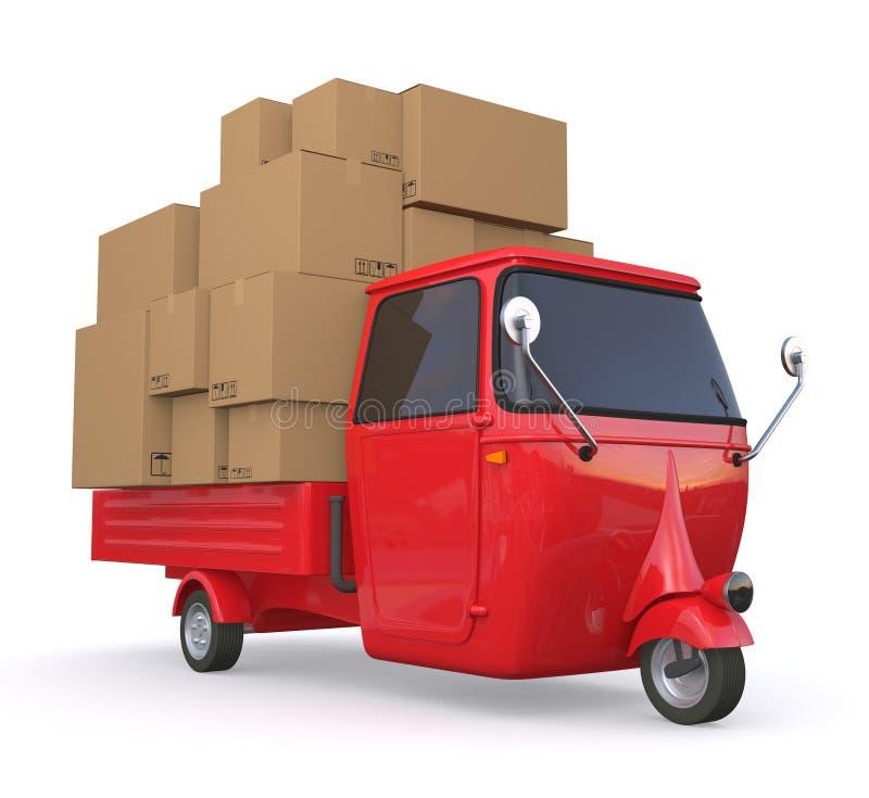 Mini truck vector illustration