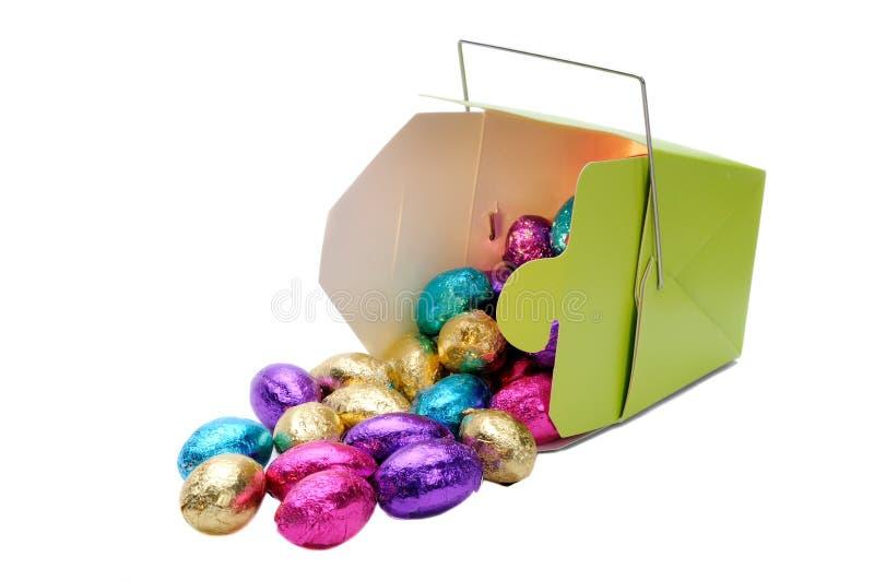 Mini uova di Pasqua fotografie stock libere da diritti