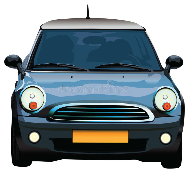 Mini véhicule illustration libre de droits