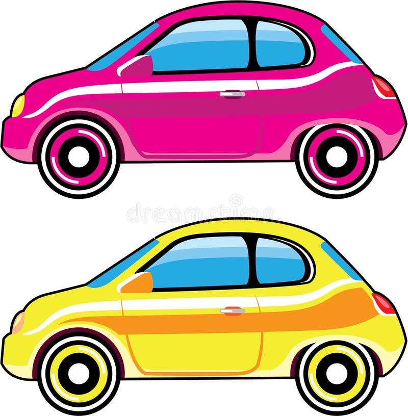 Mini véhicule de petite voiture minuscule minuscule illustration libre de droits