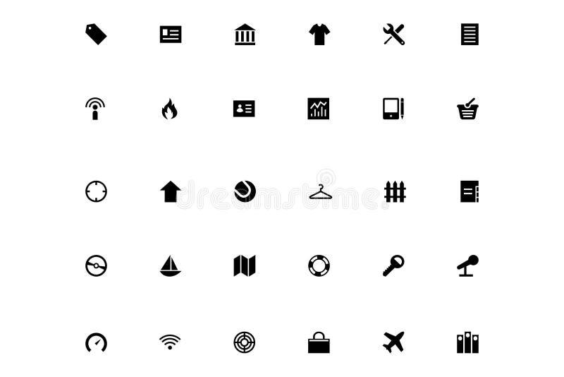 Mini Vector Icons 8 vector illustration