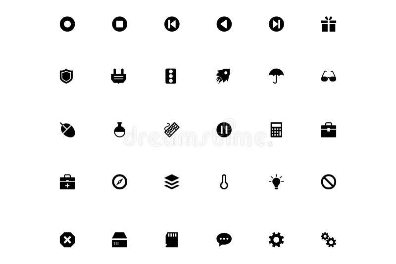 Mini Vector Icons 5 vector illustration