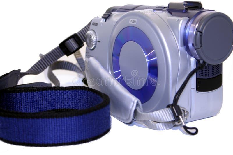 Mini videocamera portatile del disco fotografie stock