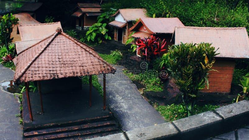 Mini villaggio fotografia stock libera da diritti