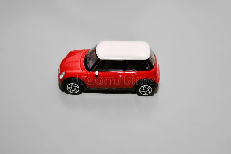 mini voiture de jouet rouge photo stock image du. Black Bedroom Furniture Sets. Home Design Ideas