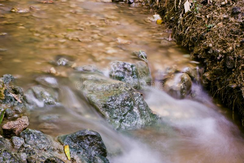 Mini Waterfall fotografie stock libere da diritti