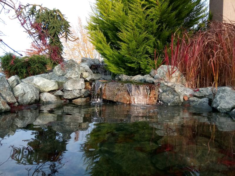 Mini Waterfall fotografia stock libera da diritti
