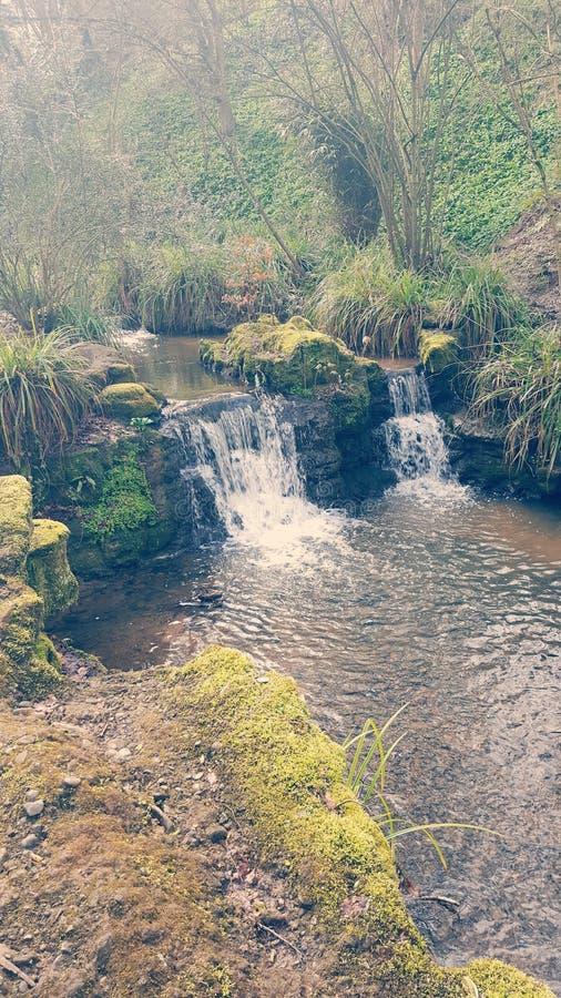 Mini Waterfalls immagini stock