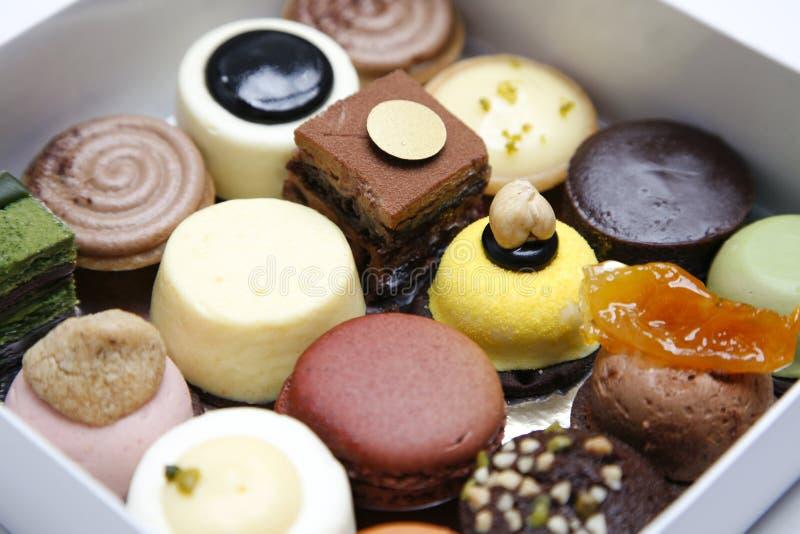 Download Mini wedding cakes stock photo. Image of delicious, macaron - 12680958