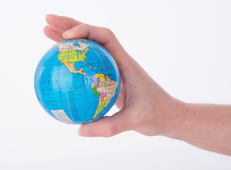 Mini World Globe royalty-vrije stock afbeeldingen
