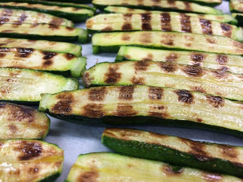 Mini zucchini stock image