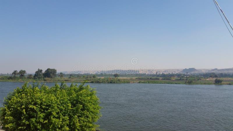Minia-Stadt, Ägypten lizenzfreies stockfoto