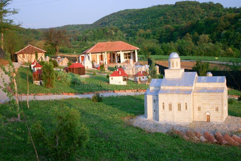 Miniatura del monasterio de Mileseva imágenes de archivo libres de regalías