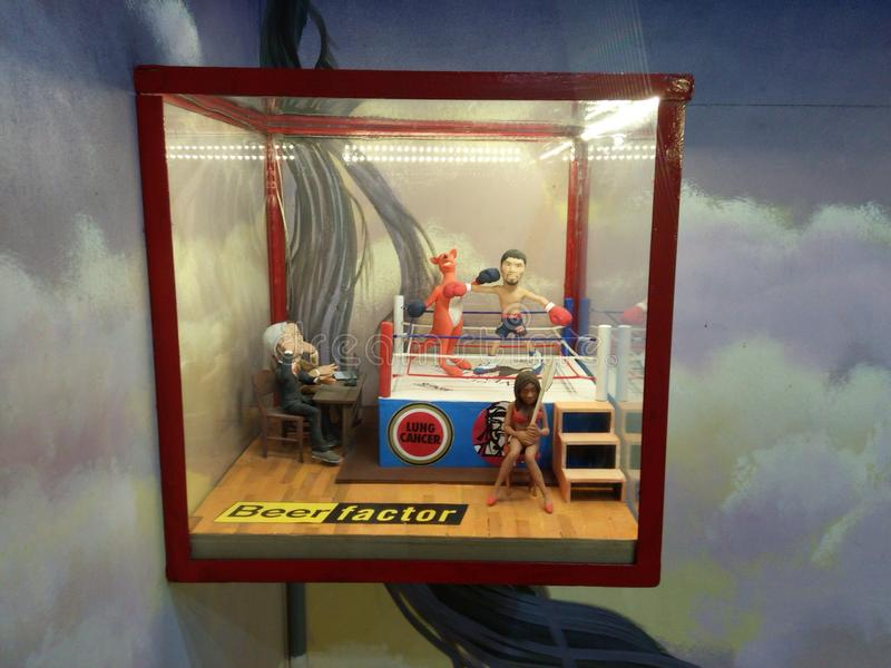 Miniatura di Manny Pacquiao immagini stock libere da diritti