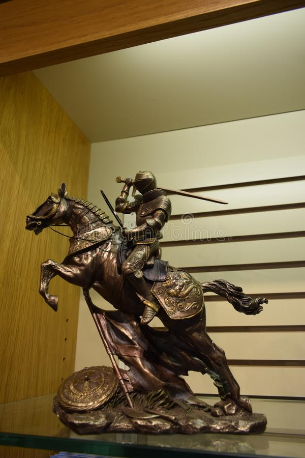 Miniatura do cavalo imagem de stock