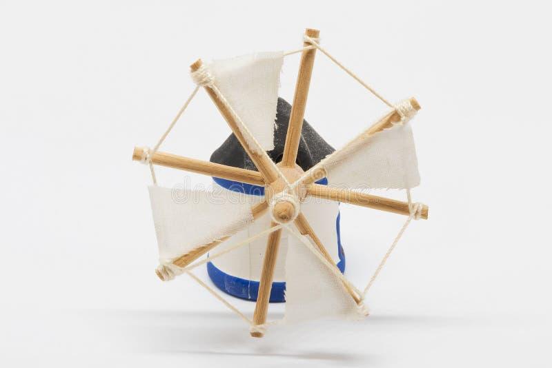Miniatura holandesa do moinho do tradional imagem de stock royalty free