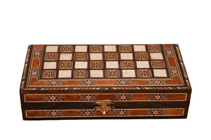 Miniature Backgammon royalty free stock photos
