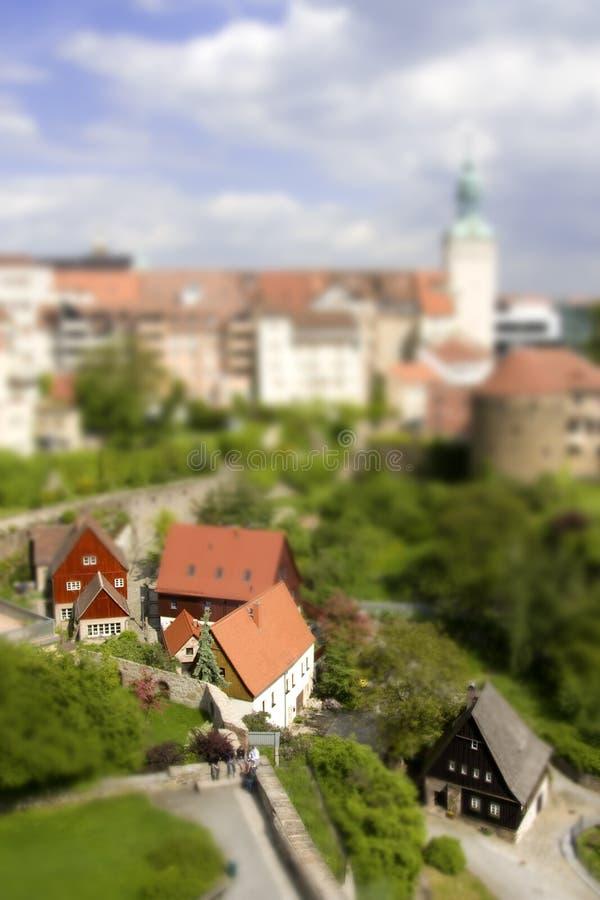 Download Miniature Bautzen stock photo. Image of view, trees, bautzen - 14731822