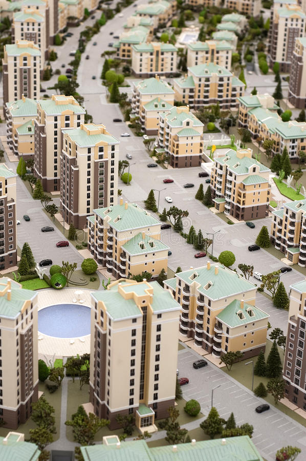 Download Miniature City Royalty Free Stock Image - Image: 19811716