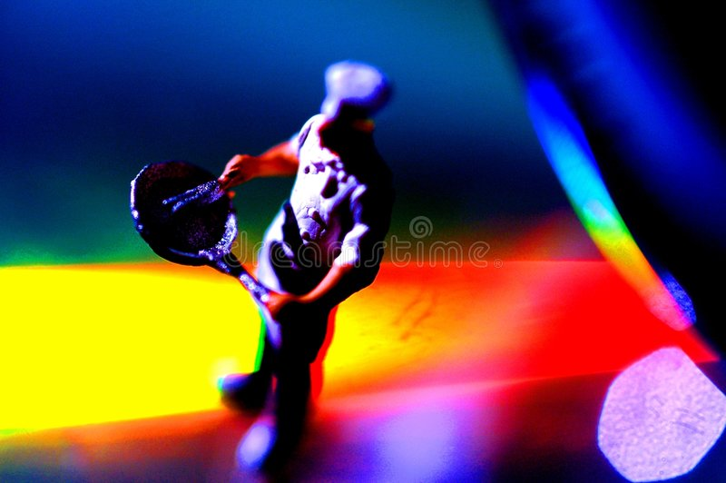 Download Miniature cook on colours stock image. Image of rainbow - 3400013