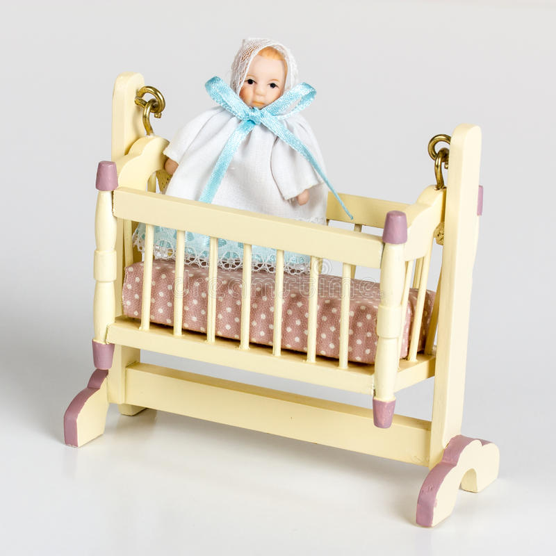 Download Miniature cradle stock photo. Image of cradle, rocker - 25131620