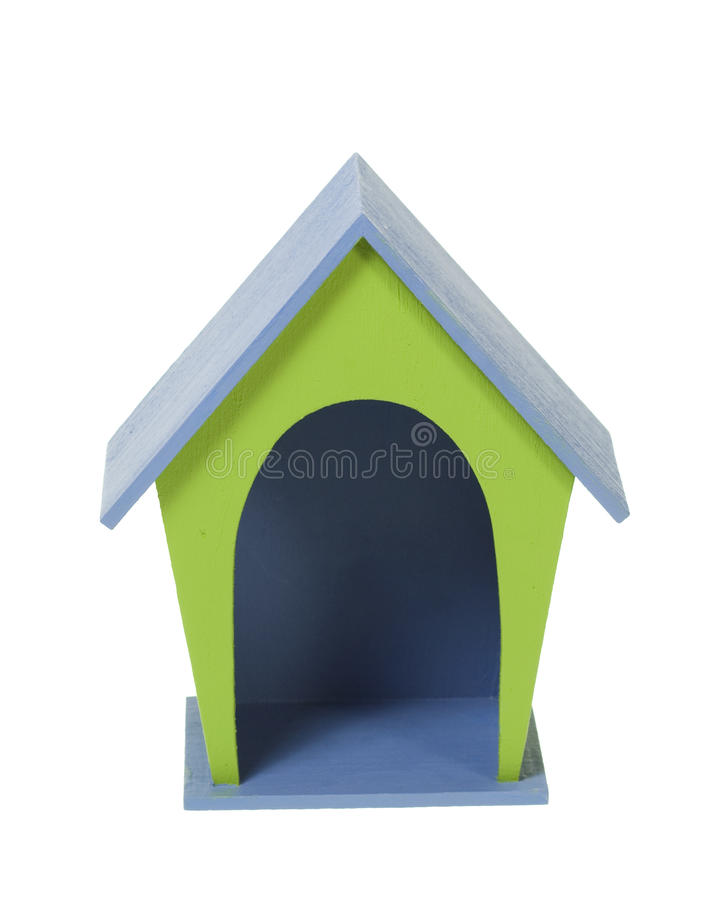 Free Miniature Craft Wooden Dog House Royalty Free Stock Photos - 20010788