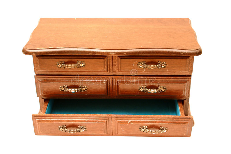 Miniature Dresser 2 royalty free stock photos