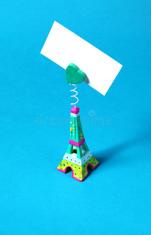 Download Miniature of Eiffel Tower stock photo. Image of souvenir - 13916992