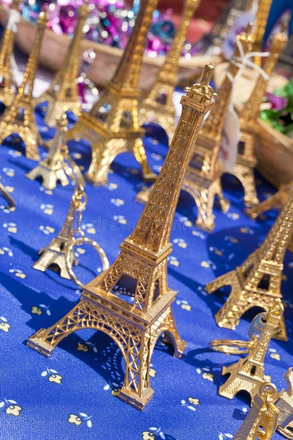 Miniature Eiffel Tower Souvenirs, Paris, Franc