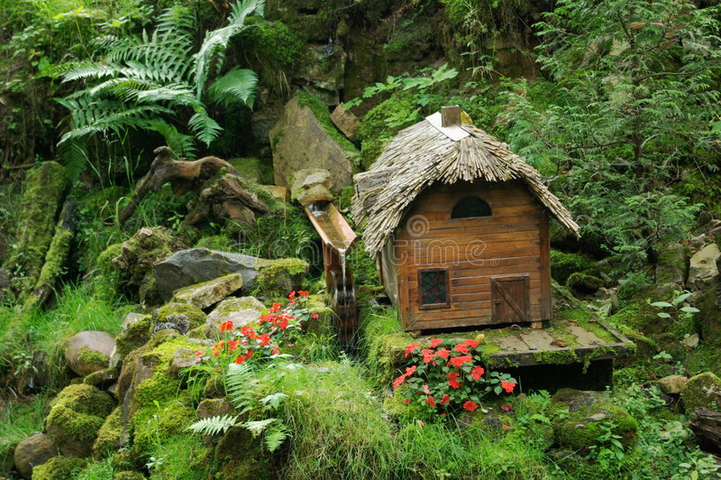 Download Miniature fairy tale cabin stock image. Image of holiday - 3064737