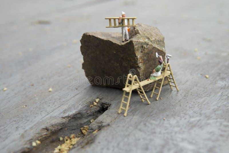 Conceptual miniature stock photo