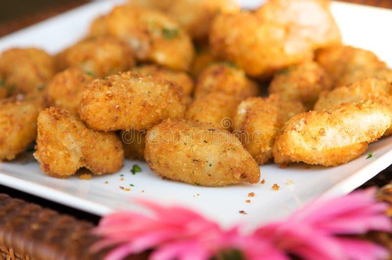 miniature gastronome de crabe de gâteaux image stock