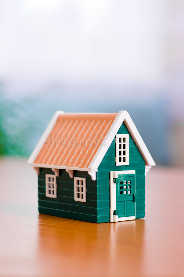 Miniature house royalty free stock image